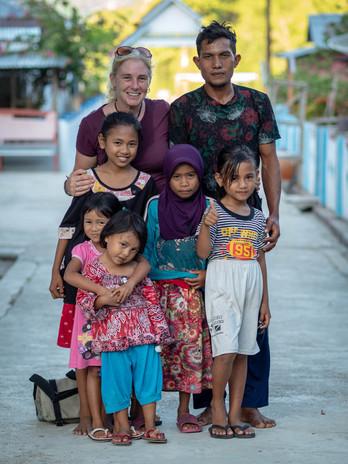 Loe Village host family
