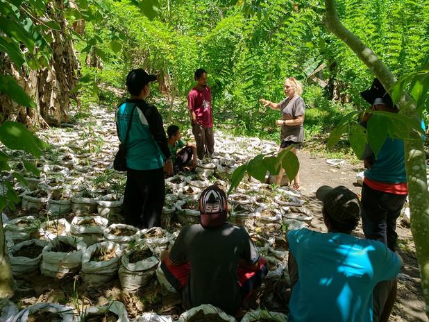 Farmer training in Pasokan