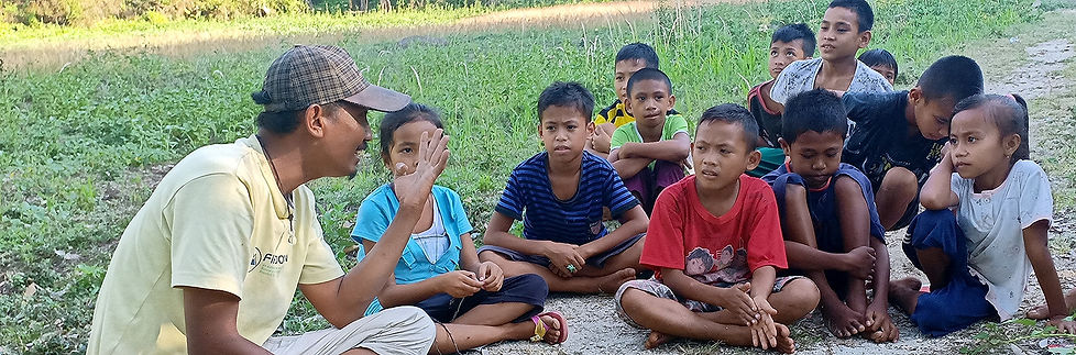 Education and awareness on the Togean Islands