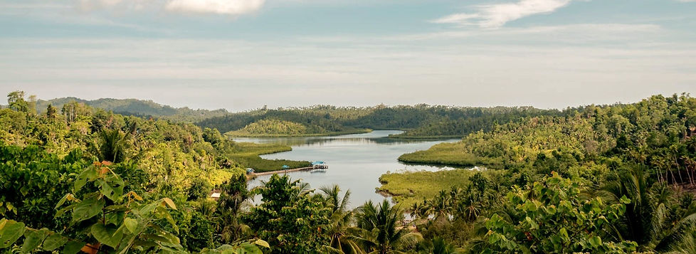 Teluk Kilat from Baulu