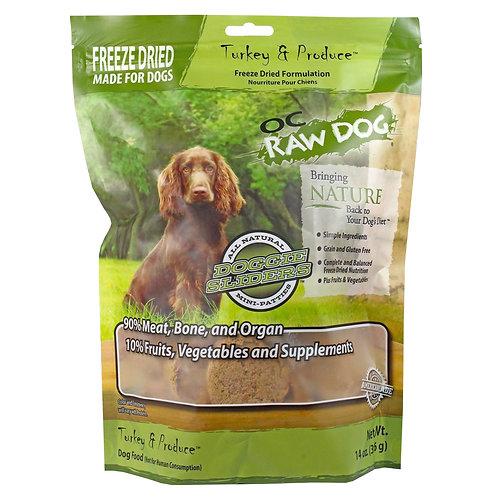OC Raw Dog - Freeze Dried Turkey & Produce