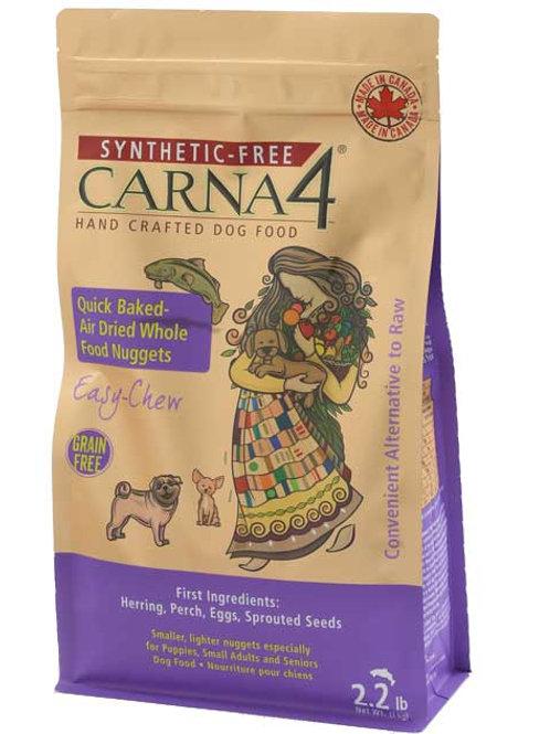 Carna4. Quick Baked, Air Dried Dog Food - Herring Formula 2.2lbs