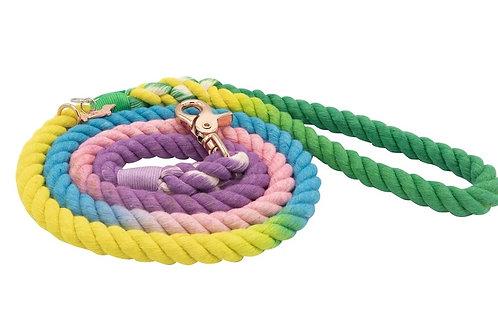 Sassy Woof Rope Leash - Mermaid