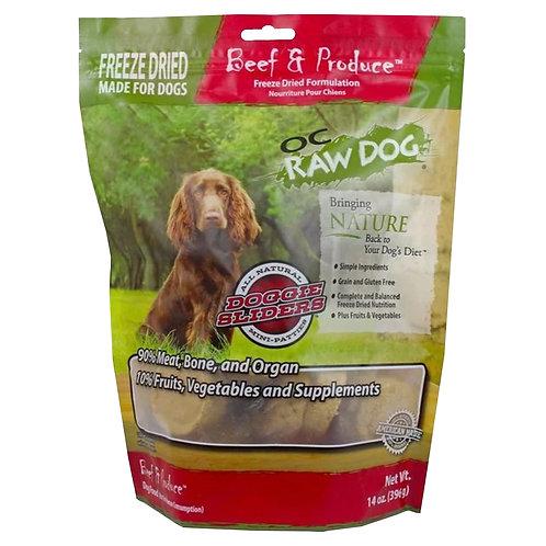 OC Raw Dog - Freeze Dried Beef & Produce