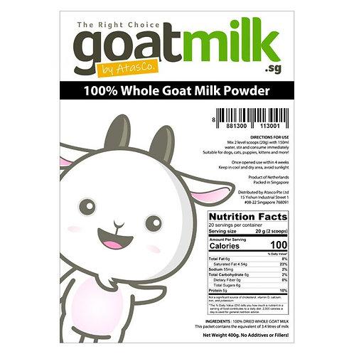 Atasco 100% Whole Goat Milk Powder