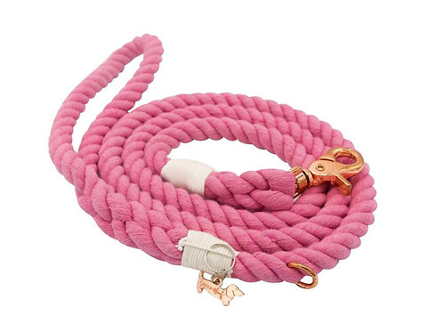 Sassy Woof Rope Leash - Cotton Candy