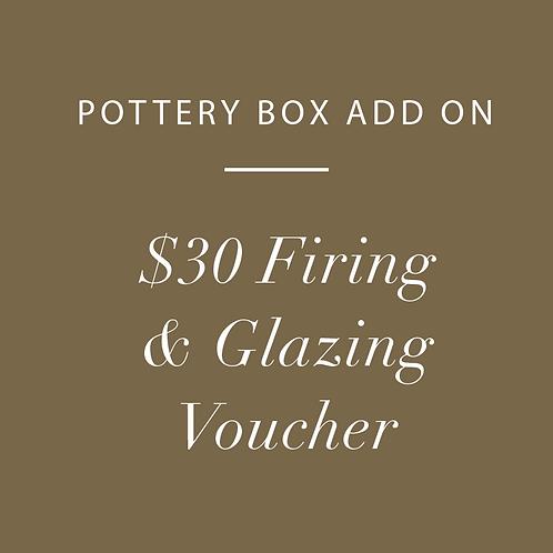Firing & Glazing Voucher