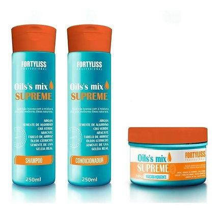 Supreme Oil Shampoo + Condicionador+máscara Hidratante