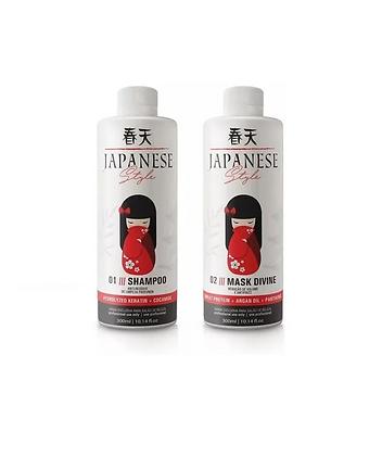 Semi Definitiva Japonesa 2x 300ml Liso Perfeito