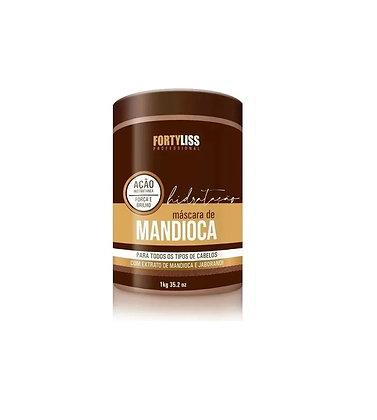 Forty Liss - Máscara Hidratante Mandioca 1000g + Brindee