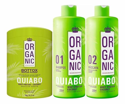 Selagem Termica Organica Quiabo + Bottox Restore Gratis