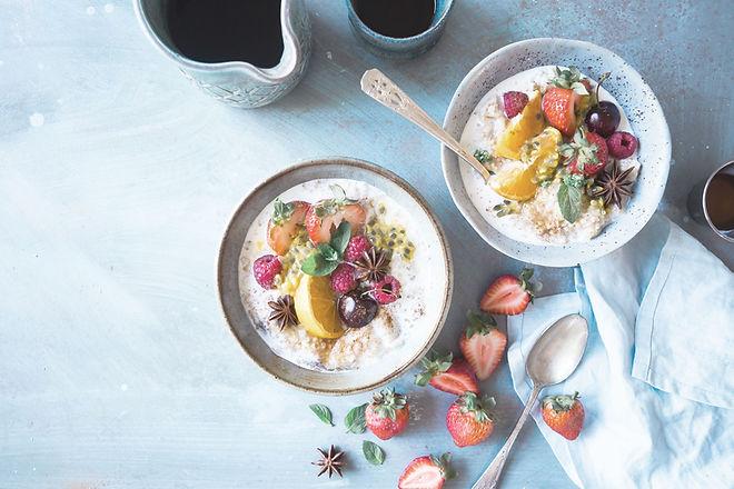 Salada de fruta saudável
