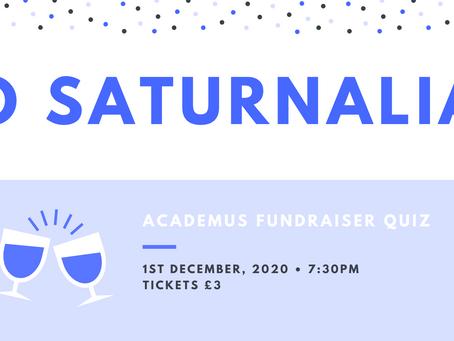 Io Saturnalia! An Academus Fundraiser Quiz