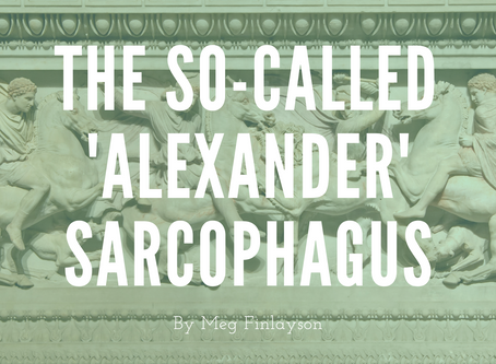 The So-Called 'Alexander' Sarcophagus: A Confluence of Cultures