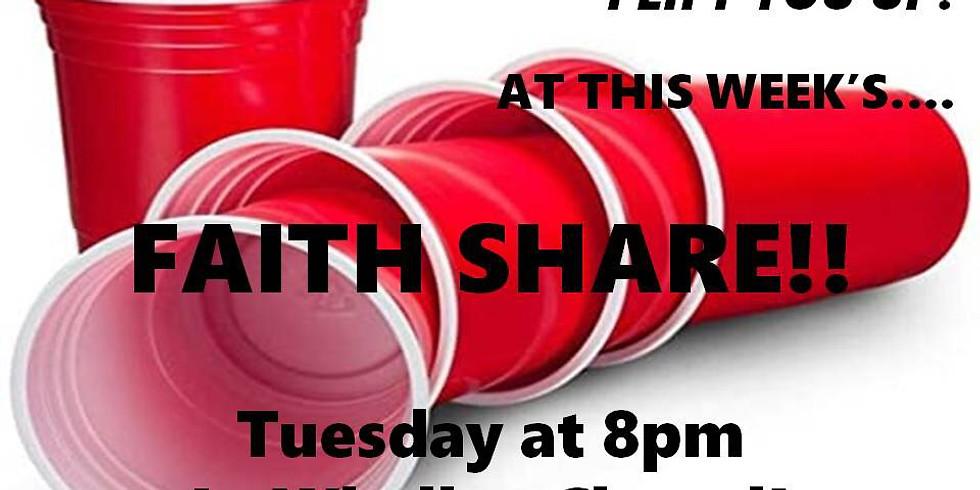 Faith Share: I Lift You Up