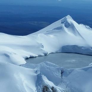 Mount Ruapehu Crater Lake