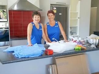 Steffi & Paula packing.jpg