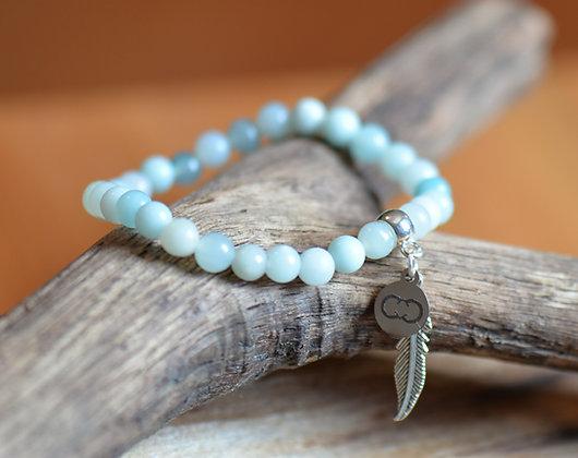 Amazonite Ocean Blue Bracelet