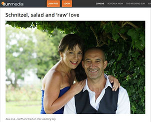 Sun Live image of Steffi and Fred August