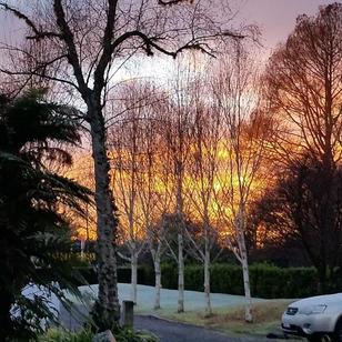 Sacred Retreats - Frosty Sunrise