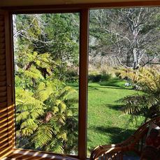 Sacred Retreats - garden view