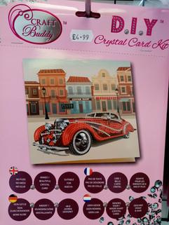 Crystal Art Car Card