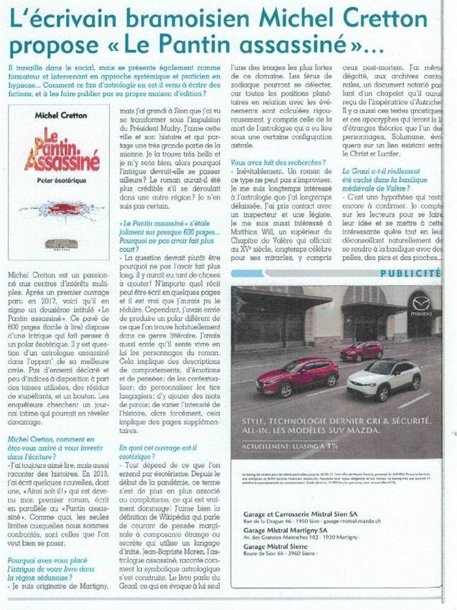 Journal de Sion p1