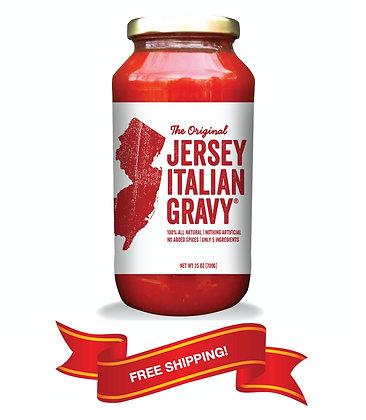 Classic Jersey Italian Gravy (3 jars)