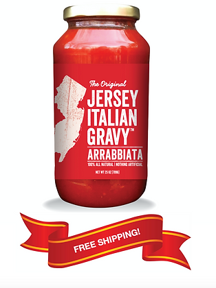 Jersey Italian Gravy Arrabbiata (6 jars)