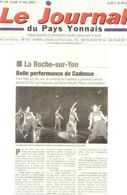 Pays Yonnais 2001