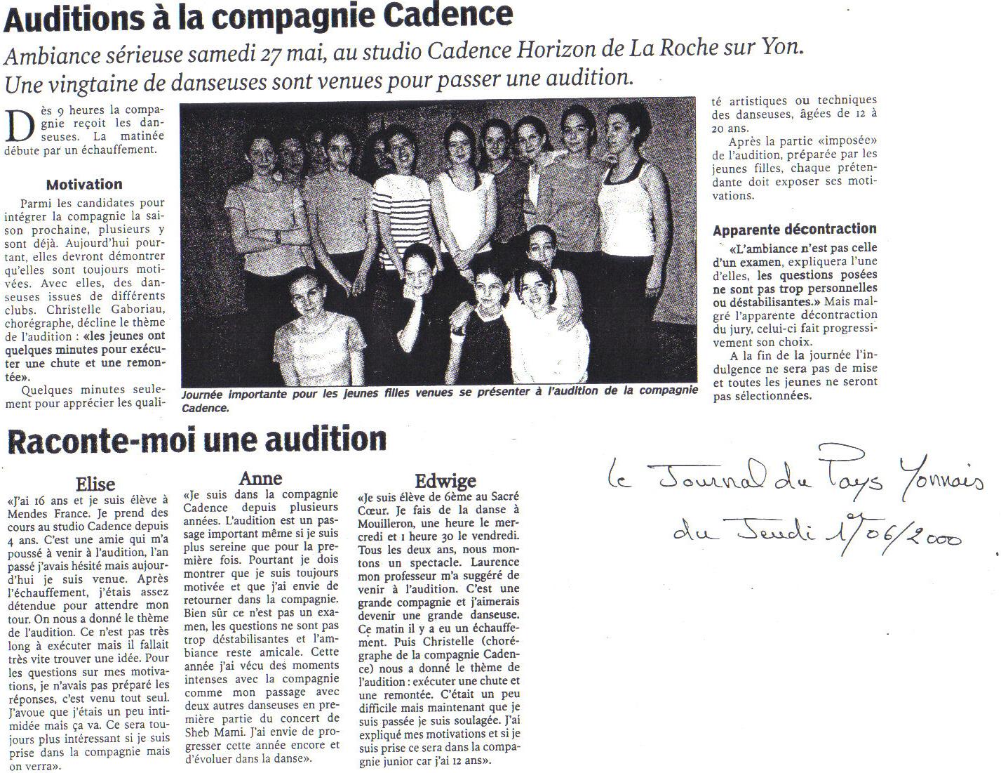 Pays Yonnais 2000