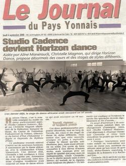 Journal Pays Yonnais Studio Cadence