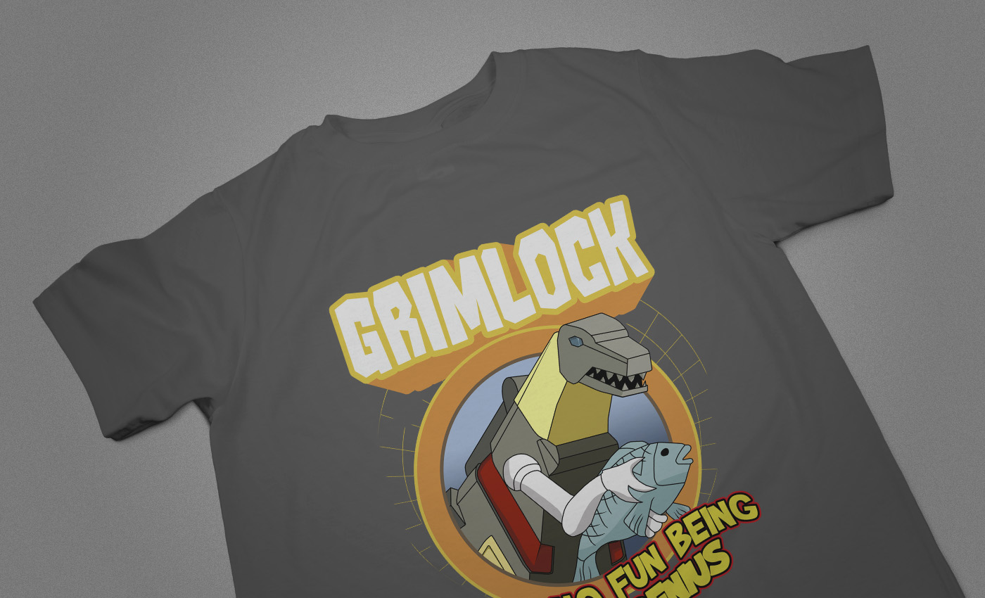Grimlock No Genius