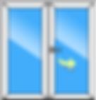 Двустворчатое окн Заказать в Белгороде