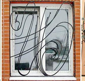 Решетки на окнах - красивый фасад и защищенный тыл