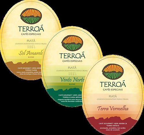 TRIO PÉ DE SERRA | 3 x TERROÁ