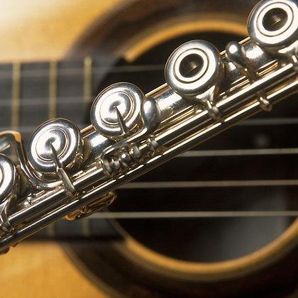 THREE PIECES (Flute & Guitar)