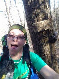Mandy Suther's Through Hike