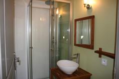 salle d'eau mezzanine Gîte Ethique