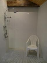 douche accessible aux personnes en situation de handicap