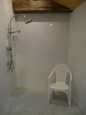 douche accessible aux personnes en situation de handicap
