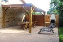 Terrasse Gite Ethique