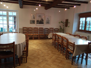 Salle-à-manger gîte Rustique