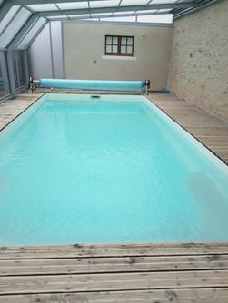 piscine couverte gîte Ethique