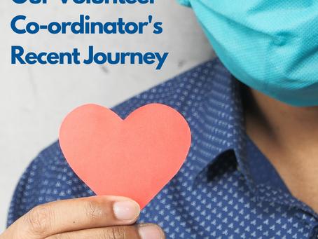 Our Volunteer Coordinator's Recent Journey