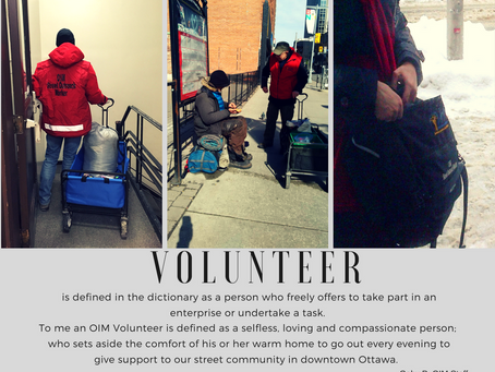 The OIM Volunteer:  A Staff Perspective