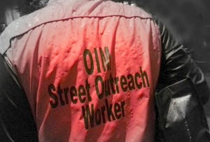 One evening, while on street outreach…