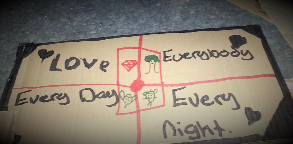 love everybody sign
