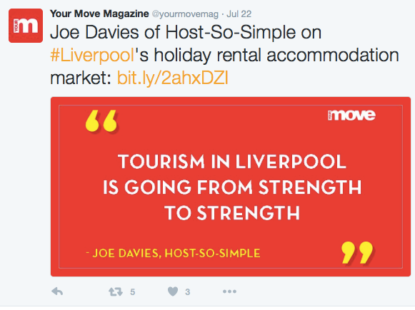 Joe Davies of Host So Simple discussing Liverpool's Airbnb Property Management Market