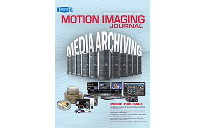 SMPTE Motion Imaging Journal